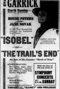 Isobel or The Trail's End