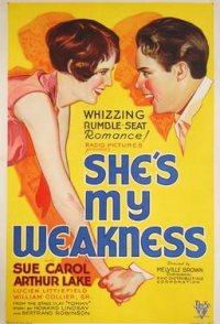 She's My Weakness