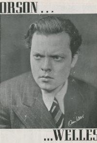 Orson Welles' Sketch Book